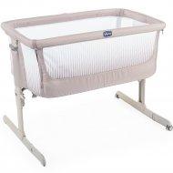Кроватка «Chicco» Next2Me, Air Dark Beige