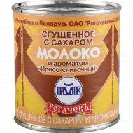 Сгущеное молоко «Рогачевъ» с ароматом ирисо-сливочным 8.5%, 380 г.