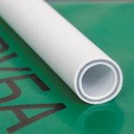 Труба «РосТурТрейд» ПП стекловолокно 32х4,4 PN20 белый 4 метра.