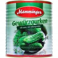 Огурцы консервированные«Mamminger» 10200 мл