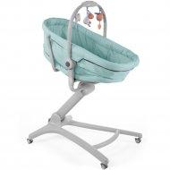 Кроватка-стульчик «Chicco» Baby Hug, 4в1, Aquarelle