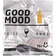 Мармелад «Good Mood» со вкусом белого вина, 75 г.