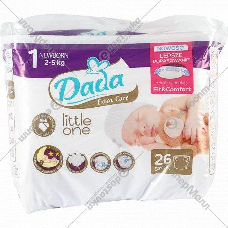 Подгузники детские «Dada Extra Care 1» 2-5 кг, 26 шт,newborn.