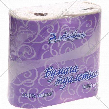 Бумага туалетная, двухслойная, тисненая, 12C10705.
