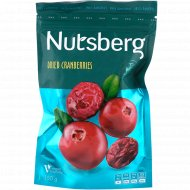 Клюква сушеная «Nutsberg» с сахаром, 150 г.