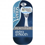 Женская бритва «Gillette Venus» Platinum + сменная кассета, 1 шт.
