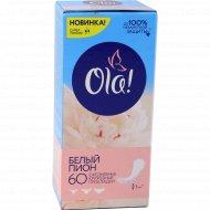 Прокладки ежедневные «Ola!» Light белый пион, 60 шт.