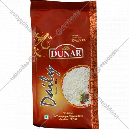 Крупа рисовая «Dunar» басмати дэйли шлифованная, 500 г.
