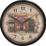 Часы настенные «Troyka» электронно-механические, кварцевые.