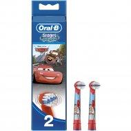 Сменные насадки для электрической зубной щетки «Oral-B» детская, 2 шт.
