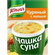 Чашка супа «Knorr» куриный 13 г.