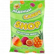 Карамель леденцовая «Candy» манго-маракуйя-ананас, 80 г.