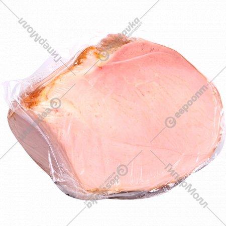 Продукт из свинины «Окорок домашний» копчено-вареный, 1 кг., фасовка 0.2-0.4 кг