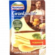 Сыр полутвердый «Hochland» Грюнландер, 50%, 150 г.