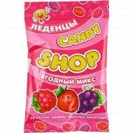 Карамель леденцовая «Candy» малина-клубника-виноград, 80 г.