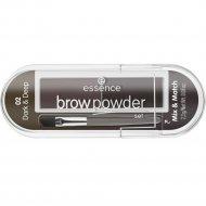 Тени «Essence» Brow Powder, 02 Dark&Deep, 2.3 г