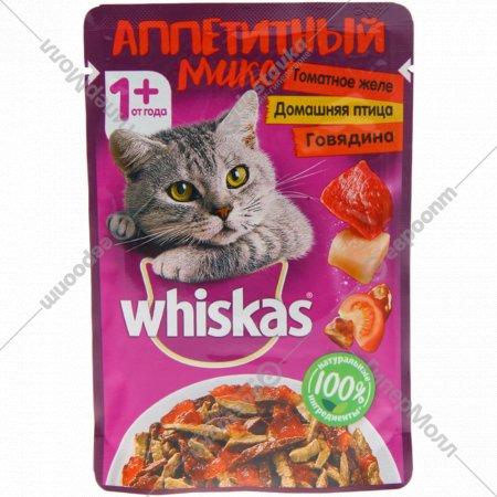 Корм консервированный для кошек «Whiskas» Аппетитный микс, 85 г