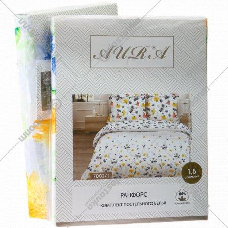 Комплект постельного белья «Ранфорс» 1.5 спальный.