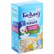 Каша кукурузно-овсяная, молочная «Беллакт» с грушей, 250 г.