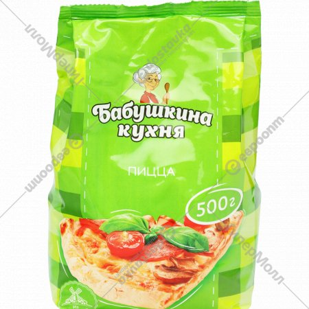 Смесь мучная «Бабушкина кухня» пицца 0,5кг.