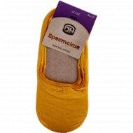 Носки женские, размер 25, цвет желтый.