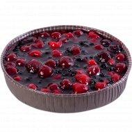 Торт «Венский пирог» вишня+малина+ежевика+черника, 600 г.