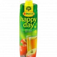 Сок яблочный «Happy day» 1 л.