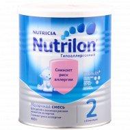 Смесь молочная «Нутрилак», гипоаллергенная-2, 400 г.