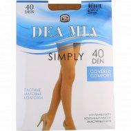 Колготки женские «Dea Mia» Simply, 40 Den, Natural.