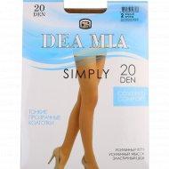 Колготки женские «Dea Mia» Simply, 20 Den, Bronz.