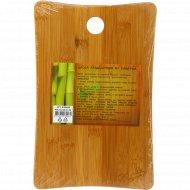 Доска разделочная из бамбука, 30x19.2x0.9 см.