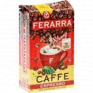 Кофе жареный «Ferarra» Espresso молотый, 250 г.
