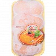 Филе цыплёнка-бройлера «Славянский велес» замороженное, 1 кг., фасовка 0.8-1.2 кг