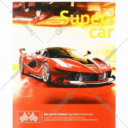 Тетрадь «Авто. Top car» клетка, 96 листов.