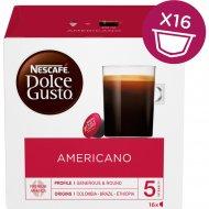 Кофе «Nescafe Dolce Gusto» американо в капсулах, 16 капсул, 128 г