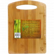 Доска разделочная из бамбука, 28.3x20x0.9 см.