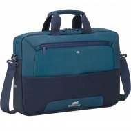 Сумка для ноутбука «RivaCase» 7737 Steel blue,aquamarine.