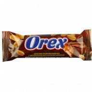 Батончик «Orex» нуга с мягкой карамелью и жареным арахисом, 45 г.
