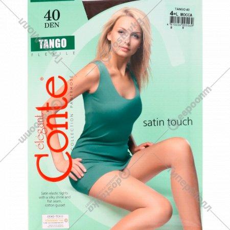Колготки женские «Conte» Tango, mocca, 40 den.