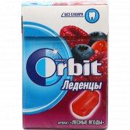 Леденцы «Orbit» лесные ягоды, 34 г.