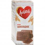 Печенье «Любятово» сахарное шоколадное, 304 г
