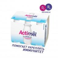 Продукт кисломолочный «Actimel» натуральный 2.6 %, 100 г х 6 шт.