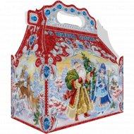 Новогодний подарок «Зимушка зима» ларец, 1.1 кг.