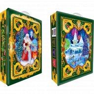 Новогодний подарок «Волшебный салют» жестяной чемоданчик, 800 г.