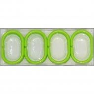 Кольца для шторки «DomiNado» KL-Z, 12 шт, зеленые