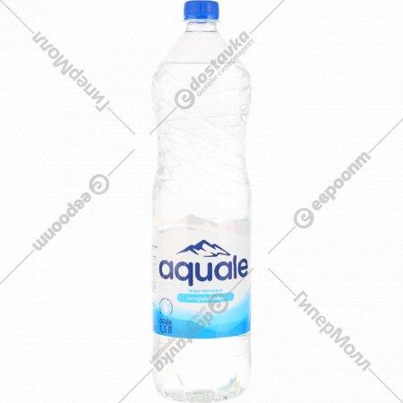 Вода питьевая «Aquale» березинская негазированная, 1.5 л.