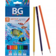 Карандаши цветные «BG» 12 цветов