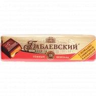 Шоколад темный «Бабаевский» с помадно-сливочной начинкой, 50 г.