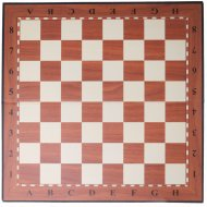 Доска шахматная картонная, D-002-N.