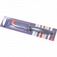 Нож металлический «Plenus» с пластмассовой ручкой, 18.5/7.5 см.